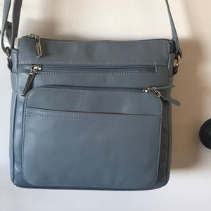 Giani Bernini cornflower blue purse NWT leather
